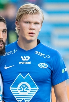 Erling Haaland med hattrick for Salzburg